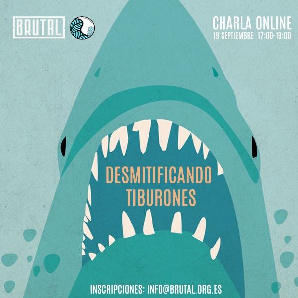 Charla Online Desmitificando tiburones