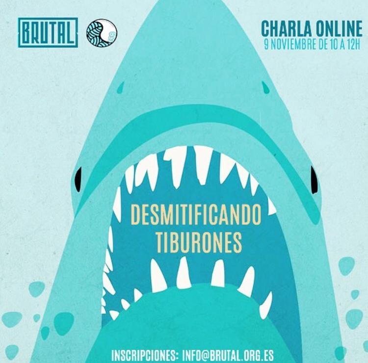 Charla online desmitificando tiburones 09/11